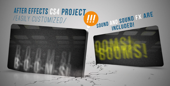 After Effects Project - VideoHive Booms 460566