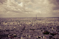 Over the Rooftops to the Eiffel Tower - PhotoDune Item for Sale