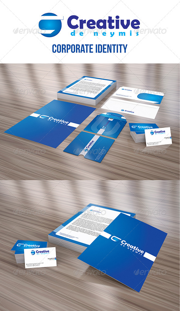 GraphicRiver Creative Corporate Identity Package 4065138