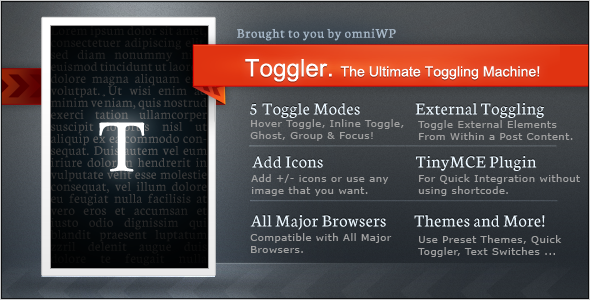 CodeCanyon Toggler The Ultimate Toggling Machine 4251255