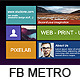 FB Metro Cover - GraphicRiver Item for Sale