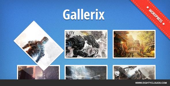 CodeCanyon Gallerix 4251520