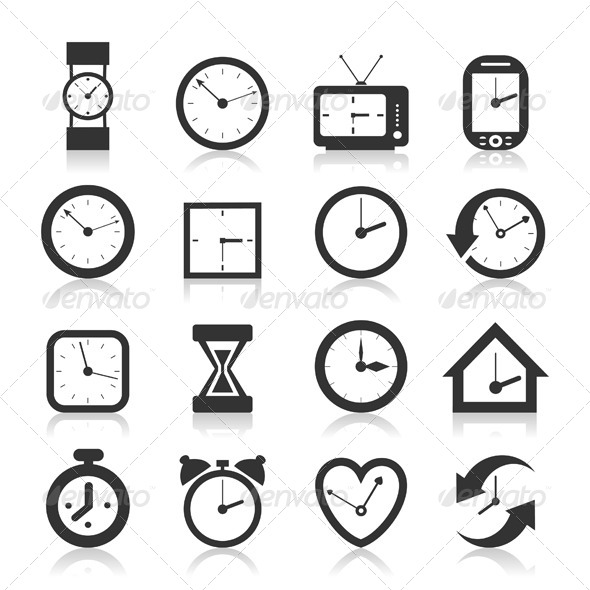 GraphicRiver Hours an Icon 4251666