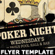 Poker Night Flyer Template - GraphicRiver Item for Sale