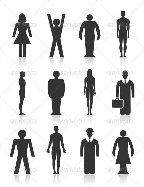 GraphicRiver Icon the person 4251691