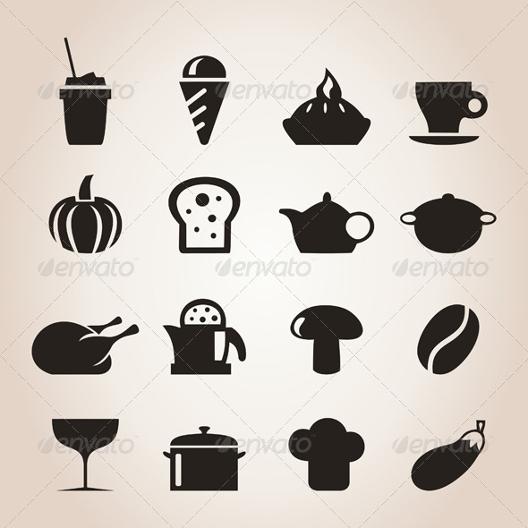GraphicRiver Meal Icons 7 4251698