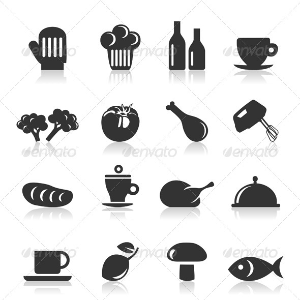 GraphicRiver Meal Icons 8 4251708