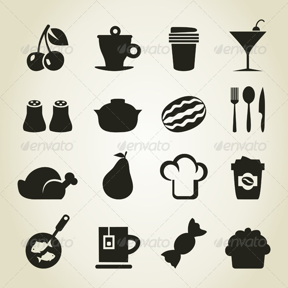 GraphicRiver Meal Icons 9 4251716