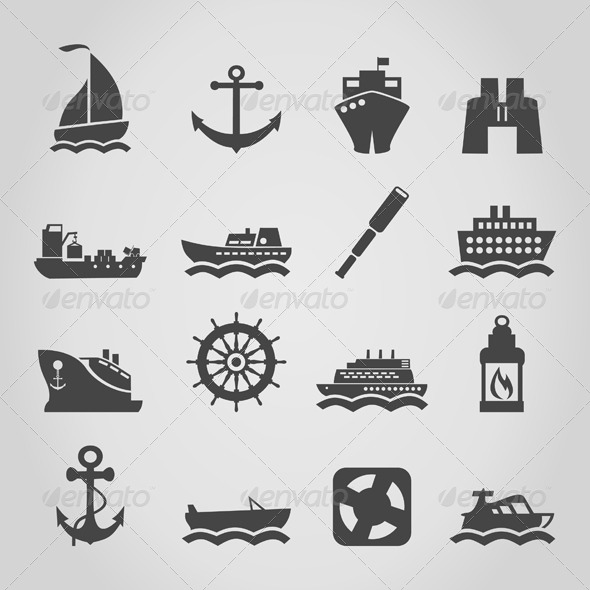 GraphicRiver Ship an Icon 4251897