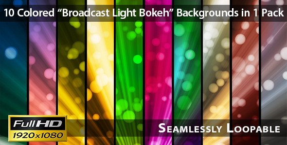 Broadcast Light Bokeh Pack 07