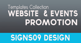 Website and Events Promotion Templates