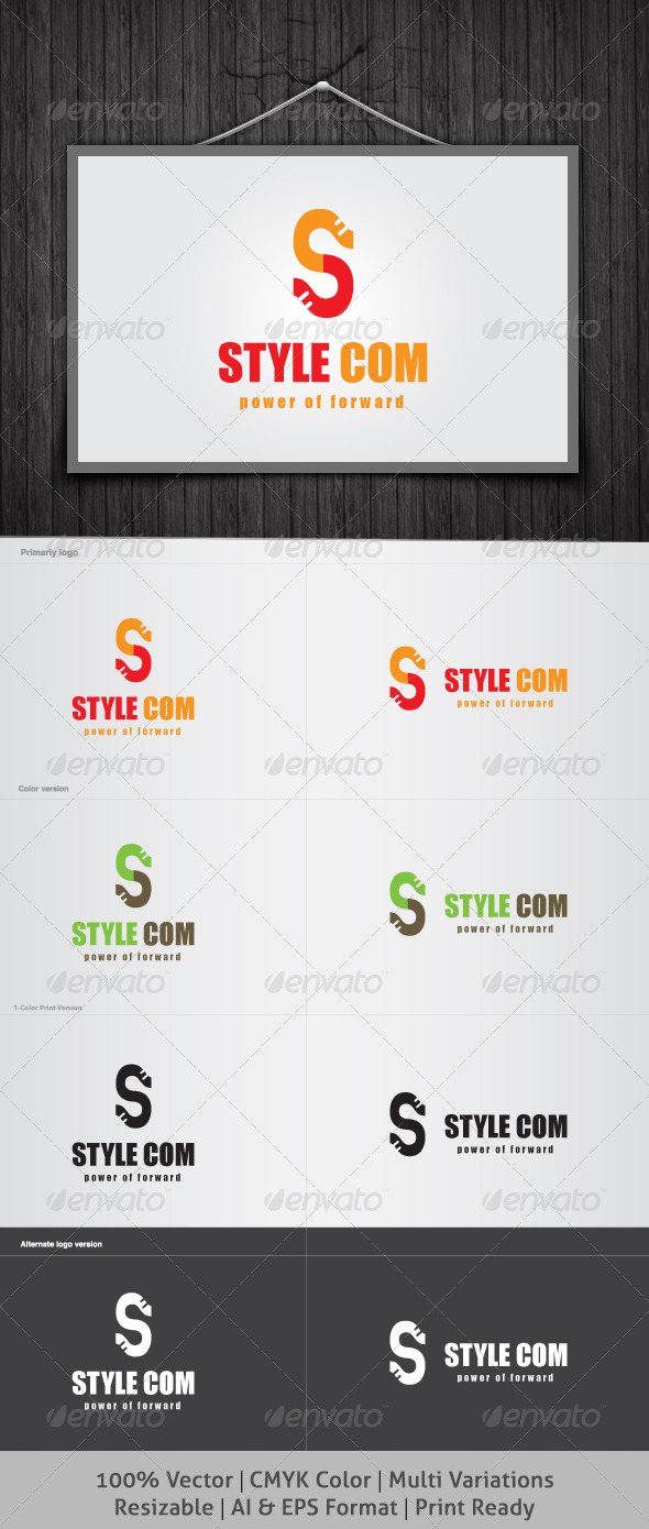 Style Com Logo - Letters Logo Templates