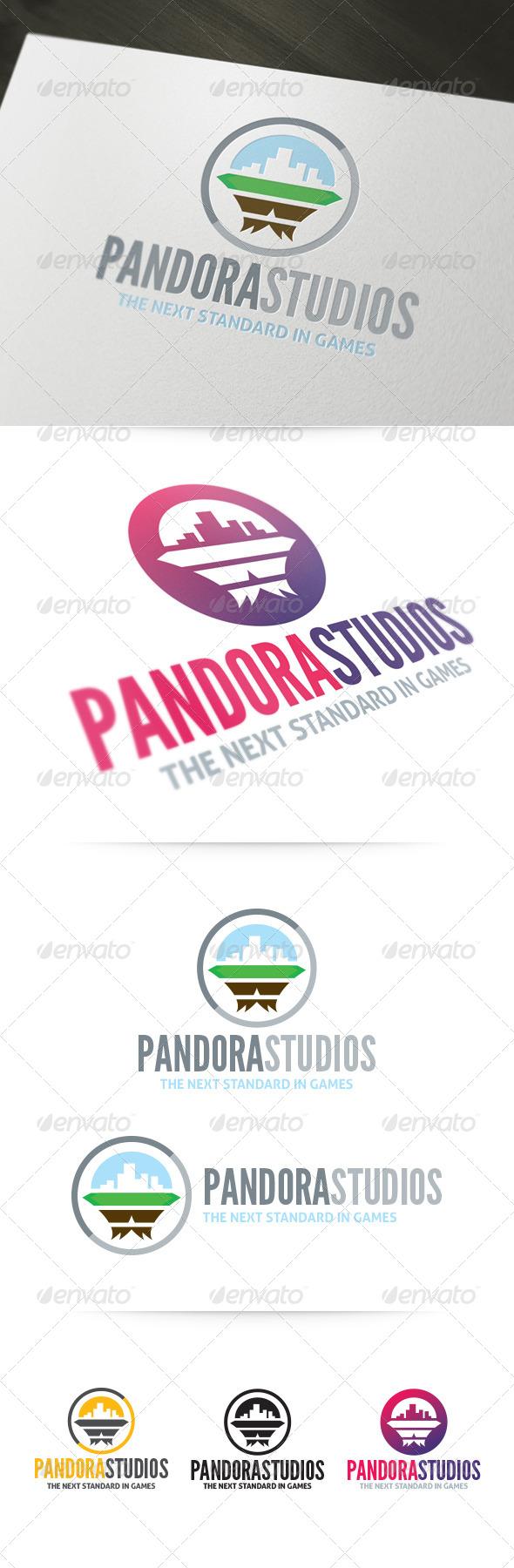 GraphicRiver Pandora Studios Logo 4253085