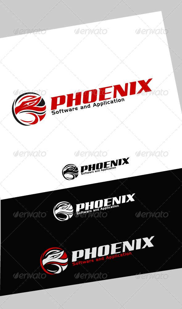 GraphicRiver Phoenix Logo 4154401