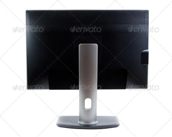PhotoDune LCD monitor rear view 4253625