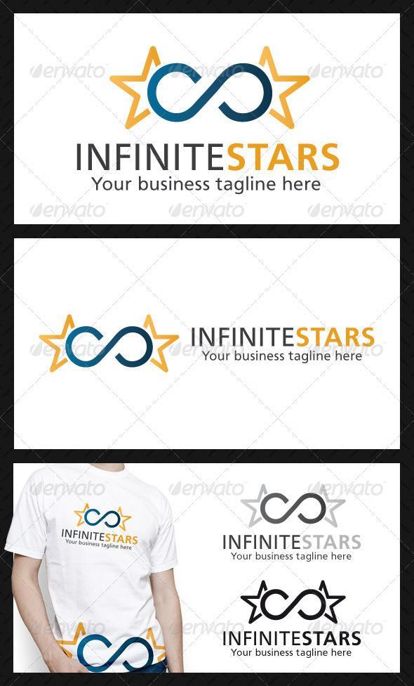 GraphicRiver Infinite Stars Logo Template 4253452