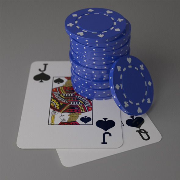 Poker Scene Pack - 3DOcean Item for Sale