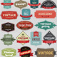 Vintage Label Set - GraphicRiver Item for Sale