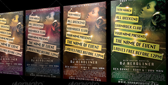 Banner Flyer - Clubs & Parties Events