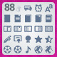 88 AI and PSD Education strict Icons  - GraphicRiver Item for Sale