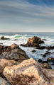 HDR Rocky Coastline Along the 17 Mil Drive - PhotoDune Item for Sale