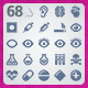 68 AI and PSD Medicine strict Icons  - GraphicRiver Item for Sale