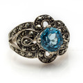 Blue Topaz Ring - PhotoDune Item for Sale
