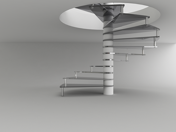 3DOcean Ladder for Interior Design 4257538