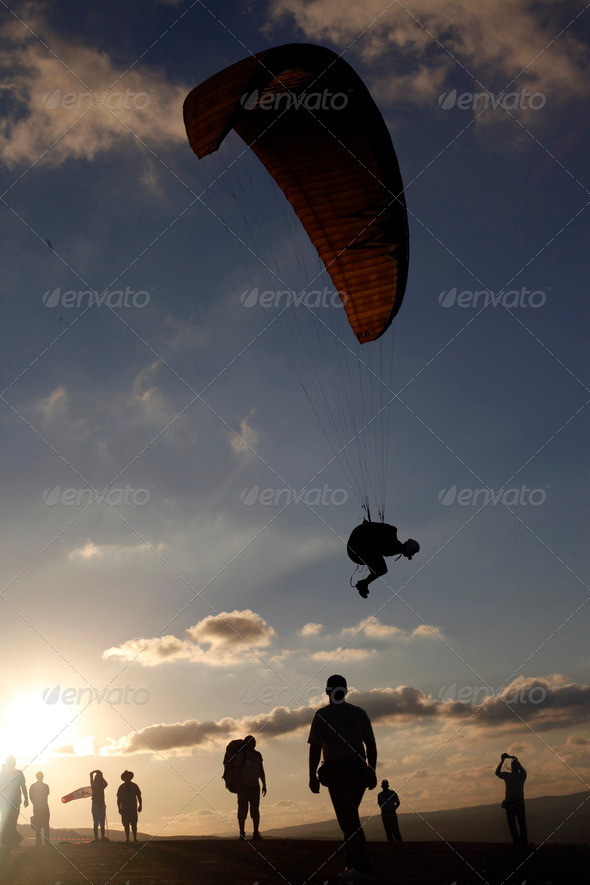 Parasailing - Stock Photo - Images