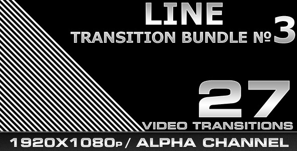 [VideoHive 461169] Line Transition Bundle 3 | Motion Graphics