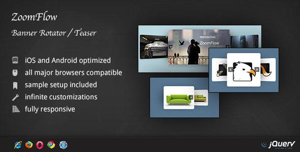 ZoomFlow - Banner Rotator / Teaser