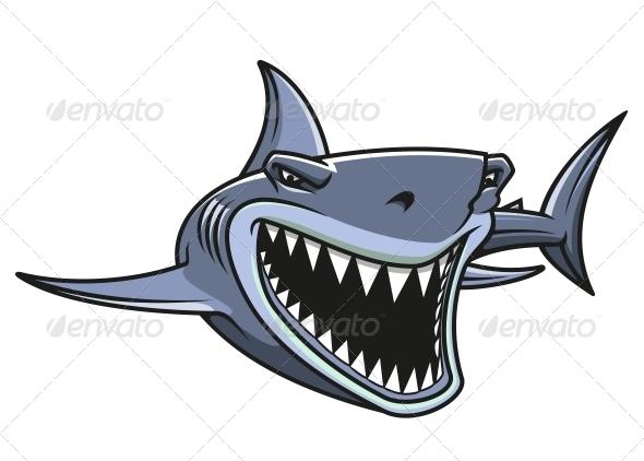 GraphicRiver Danger Shark Attacks 4258007