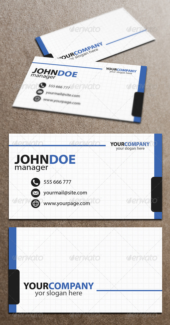 GraphicRiver Business Card 4058358