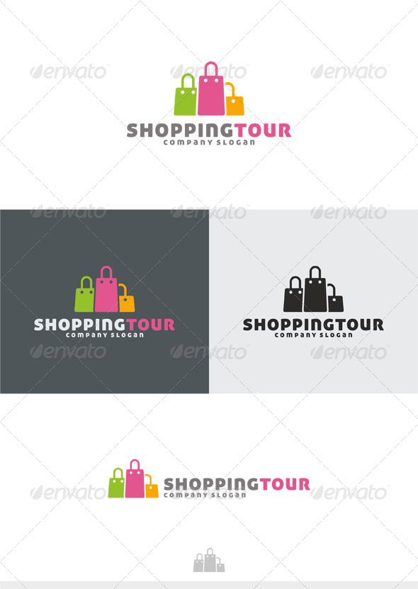 GraphicRiver Shopping Tour Logo 4258094