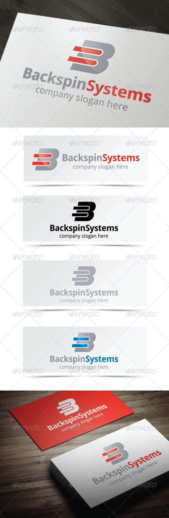 GraphicRiver Backspin Systems 4158511