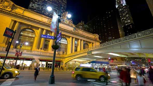 Traffic Near Grand Central Terminal