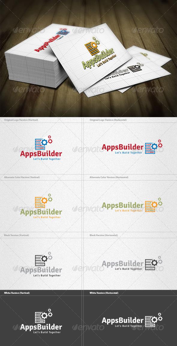 GraphicRiver App Builder Logo 4259526
