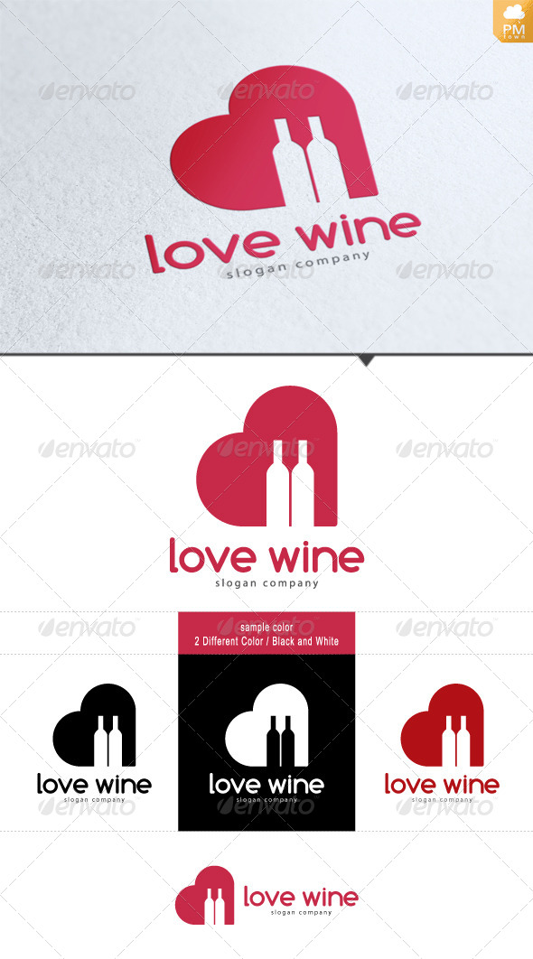 GraphicRiver Love Wine 4260963