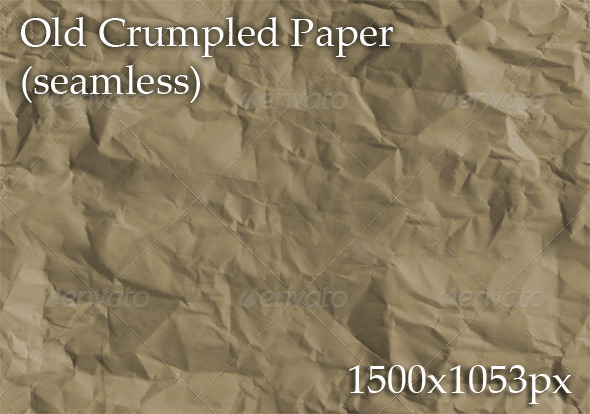 GraphicRiver Old Crumpled Paper seamless 4261134