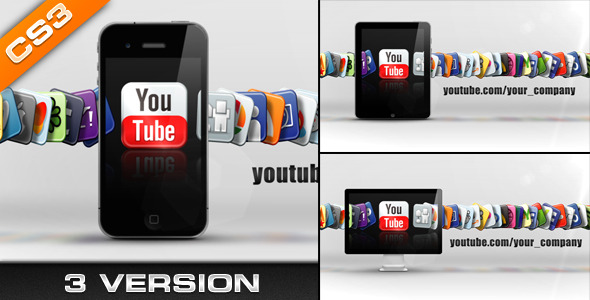 After Effects Project - VideoHive Media & Social Networks 461259