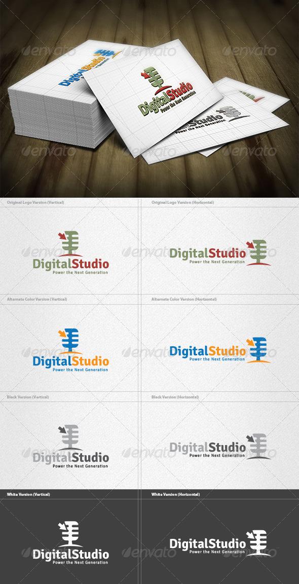GraphicRiver Digital Studio Logo 4261742