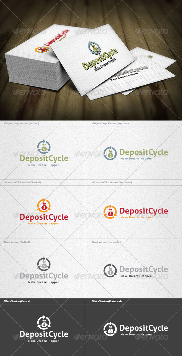 GraphicRiver Deposit Cycle Logo 4261961