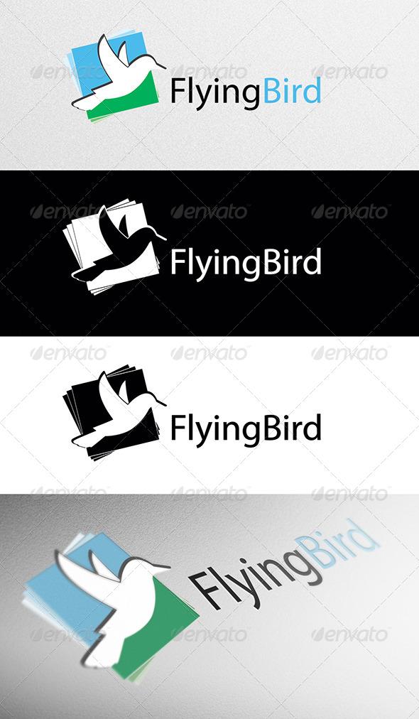 GraphicRiver Flying Bird Logo 4140358