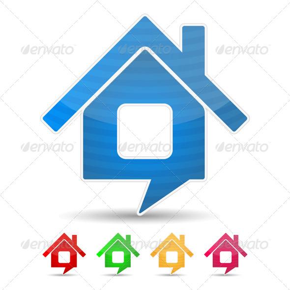 GraphicRiver House Icon 4263091