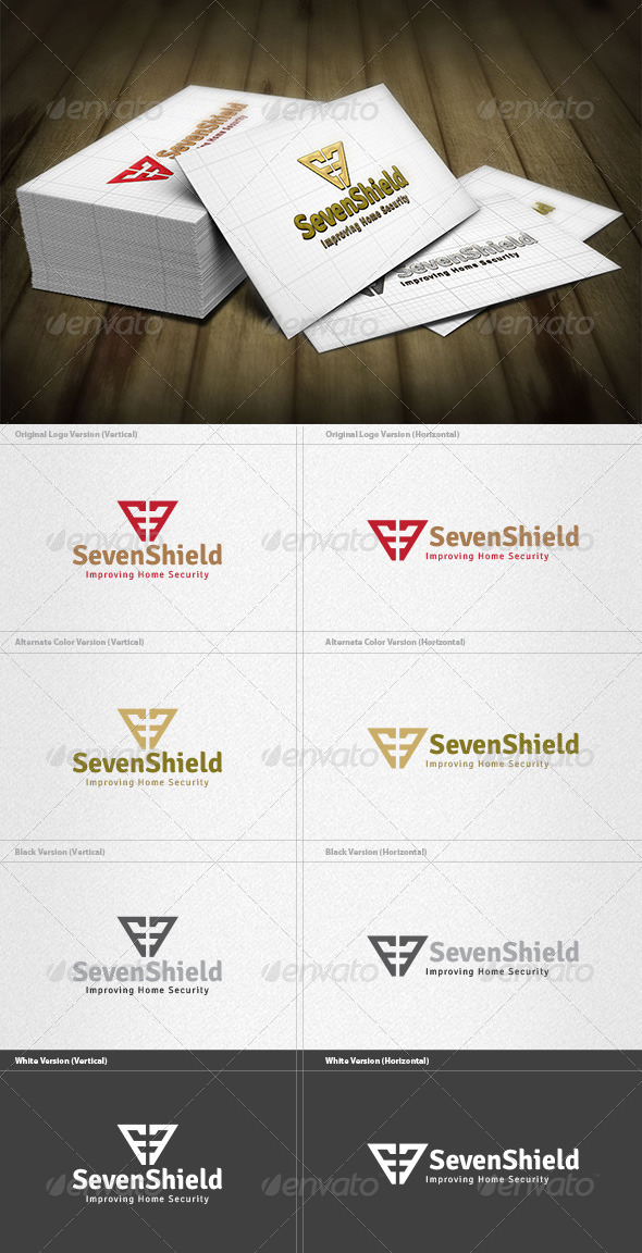 GraphicRiver Seven Shield Logo 4263098
