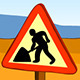 Digging Worker Under Construction - GraphicRiver Item for Sale