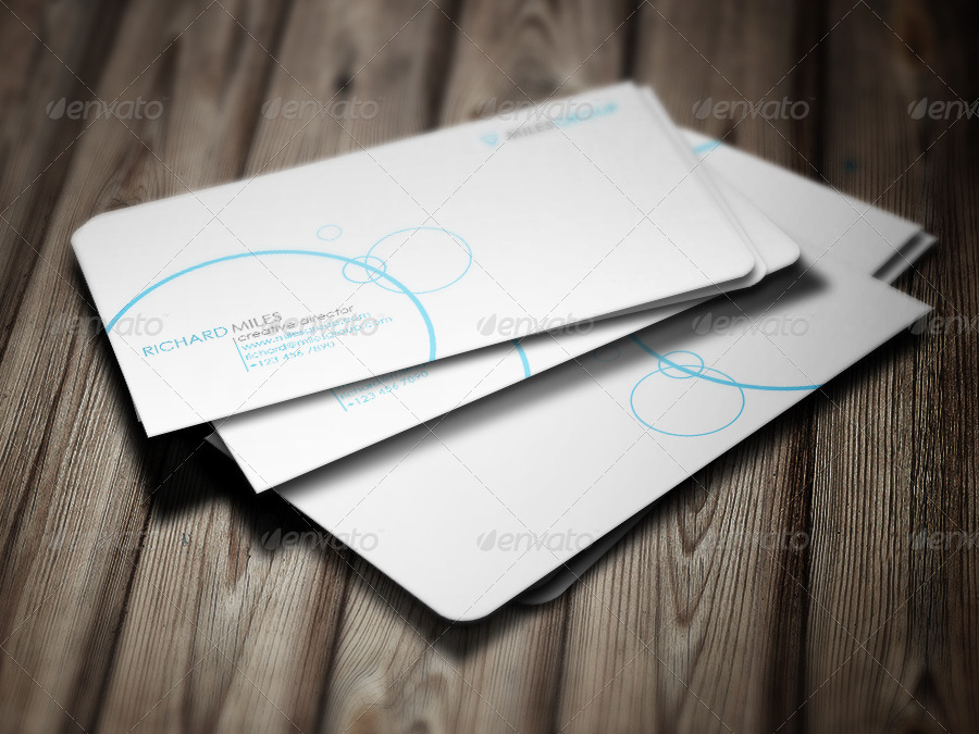 White Sleek Business Card