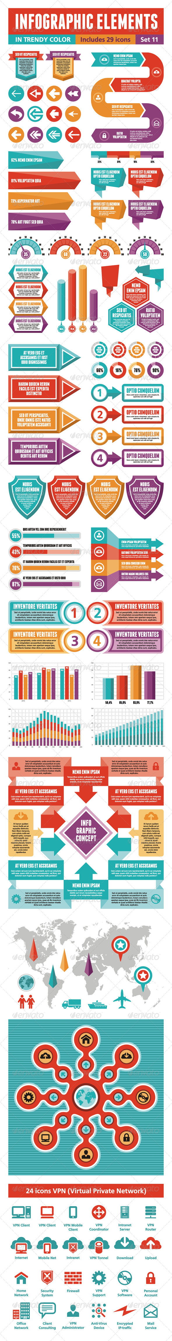 GraphicRiver Infographic Elements 11 4263252