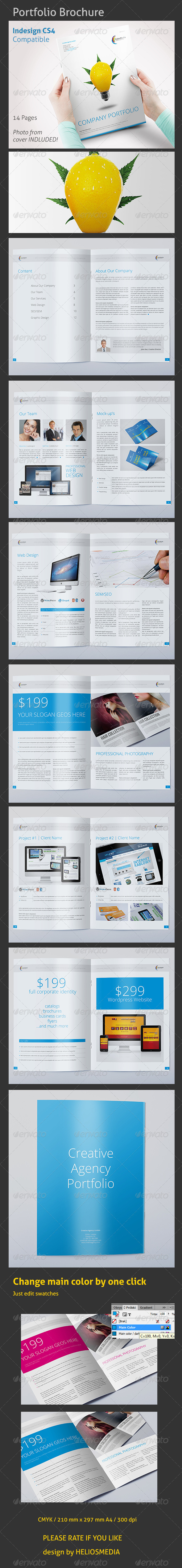 Creative Agency Portfolio - Portfolio Brochures
