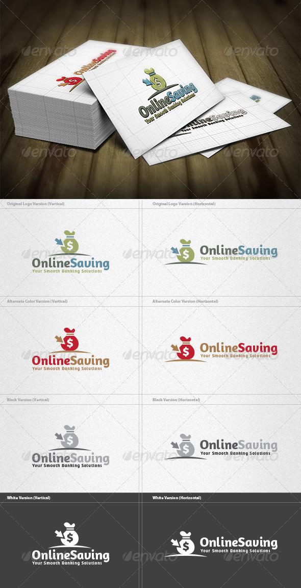 GraphicRiver Online Saving Logo 4263578